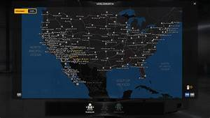 Map remix ats v14 mod american truck simulator mod for Best free ats