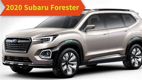 Subaru Forester 2020 Colors by 2020 Subaru Forester Redesign Release Date Price