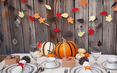 unique thanksgiving decoration ideas