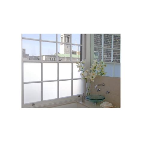 white frosted privacy window film frost etched glass