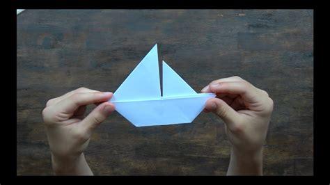 origami boot falten segelboot falten schiff aus papier falten boot falten einfach