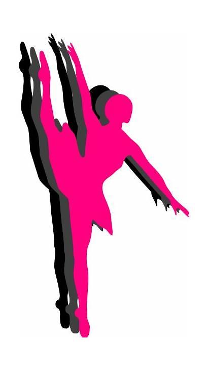 Dancer Silhouette Ballet Clipart Dance Clip Triple