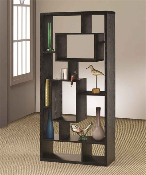 modern room divider bookcase los angeles bookcases for bookcases and room separator