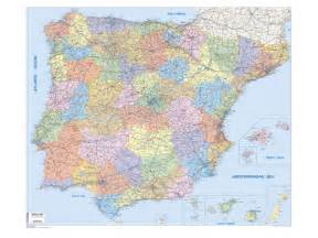 Spain Portugal Europe Map