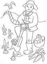 Coloring Farmer Field Busy Doing Printable Printables Farm Female Mrprintables Sketch Scarecrows Kleurplaten Dibujos Ziek Zijn Hcc Rb Colorear Alphabet sketch template