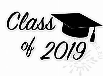 Graduation Clip Class Coloring Printable Clipart Mpumalanga