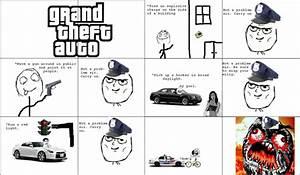 Grand Theft Auto Enhanced Police Vs Real Life Crime ...