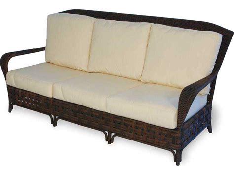 Wicker Sofa Cushion by Lloyd Flanders Wicker Arm Sofa Lf43055
