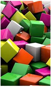 Colorful cubes wallpaper - 3D wallpapers - #21654
