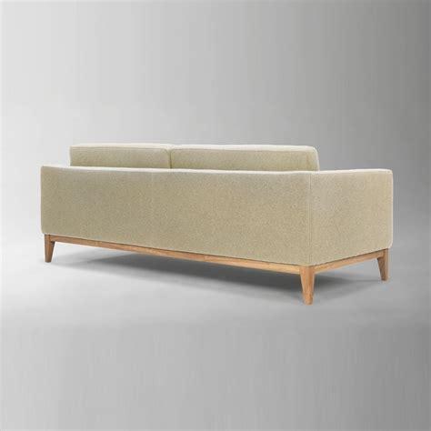 canape en bois et tissu day canapé avec structure et pieds en bois rembourré et