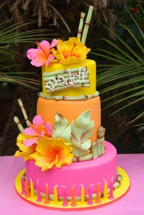 25+ Best Hawaiian Theme Cakes Ideas On Pinterest