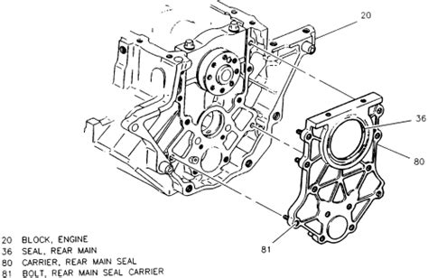 repair guides engine mechanical components rear main