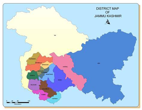remote sensing  gis political map  jammu kashmir