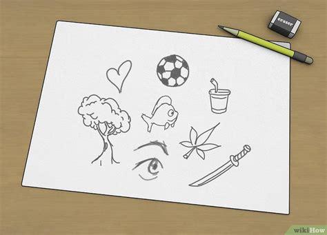 pensare  cosa disegnare  passaggi illustrato