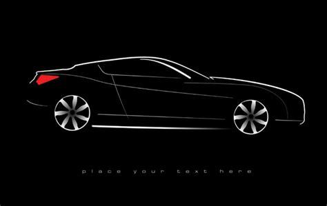 Shiny Car Black Background Design Vector 02 Free Download