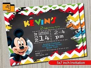 Mickey Mouse Geburtstag : micky maus mickey mouse geburtstag einladung mickey mouse ~ Orissabook.com Haus und Dekorationen