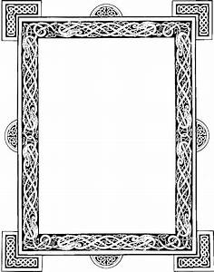 Celtic frame graphic by DeviantNepStock | Celtic patterns ...
