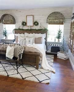 35, Cozy, Modern, Farmhouse, Bedroom, Design, Ideas