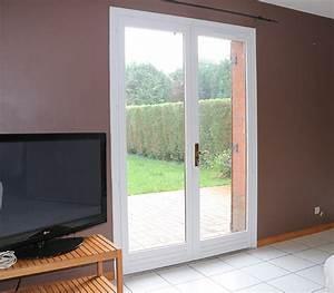 Comment Poser Une Porte A Galandage En Renovation : baie coulissante galandage 2 vantaux 1 rail ~ Melissatoandfro.com Idées de Décoration