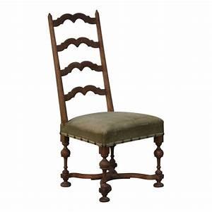 Chaise Louis Xiii : chaise louis xiii avec dossier traverse et pieds tourn s ~ Melissatoandfro.com Idées de Décoration
