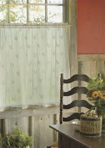 fresh french country rooster kitchen curtains 14241