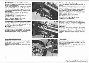 1986 Ktm 125 Gs Mx Mxc Motorcycle Owners Repair Manual