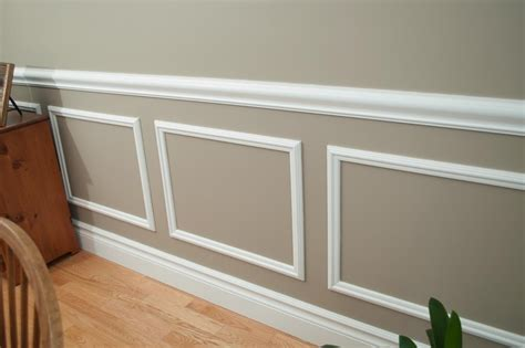 shocking chair rail molding decorating ideas for