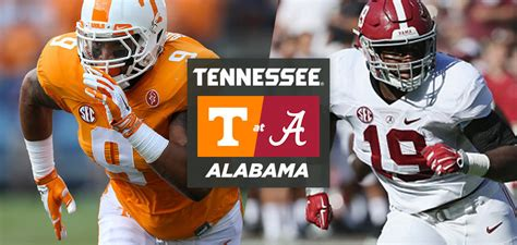 alabama tennessee game time announced