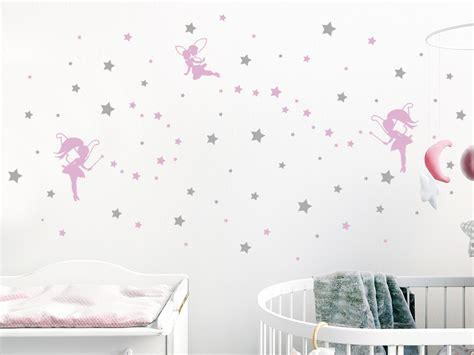Wandtattoo Kinderzimmer Feen by Wandtattoo Sternenhimmel Mit Feen Wandtattoo De