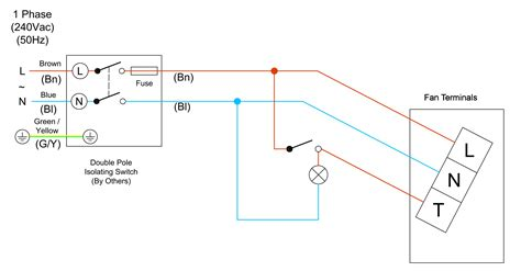 Wiring Diagram For Shower Extractor Fan Diagrams