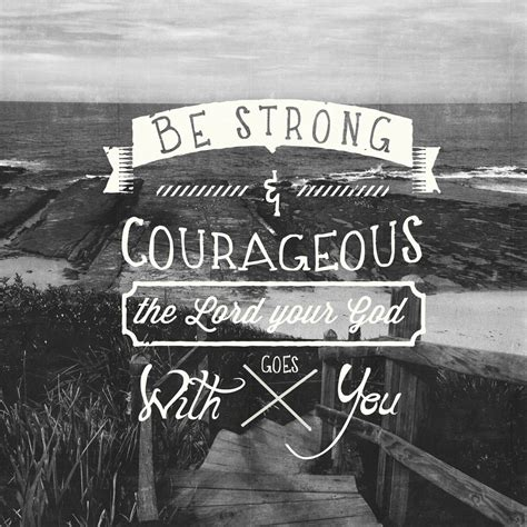 Be Strong And Courageous Pocket Fuel Daily Devotional