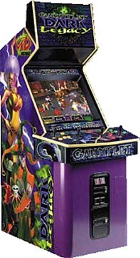Gauntlet Legends Arcade Cabinet by Gauntlet Legacy Videogame By Midway
