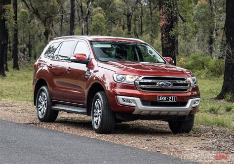 2017 Ford Everest Trend Review Video Performancedrive