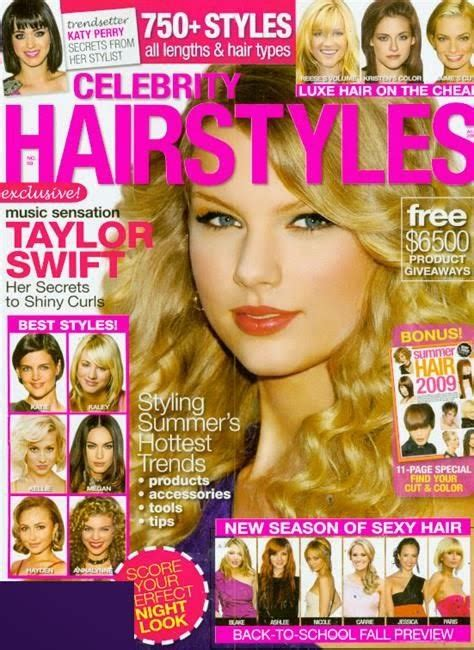 hair hairstyle magazines
