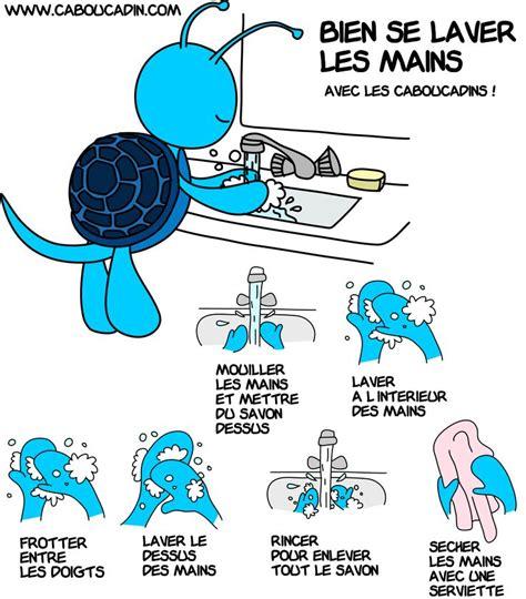 un pictogramme pour expliquer aux enfants comment bien se laver les mains pictogrammes laver
