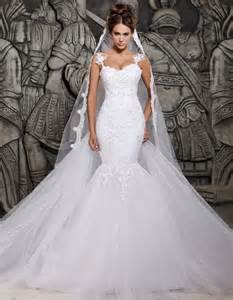 wedding gowns with detachable trains aliexpress buy designer mermaid wedding gown 2015 see through back beaded pearls