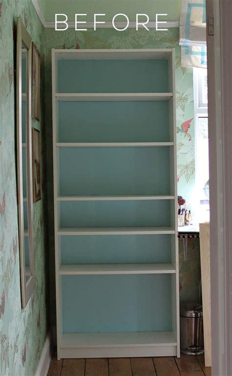 dressing room makeover  ikea billy bookcase hack