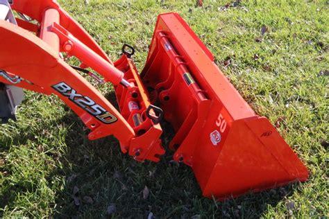 kubota bxattachmentscom  heavy duty high volume dirt