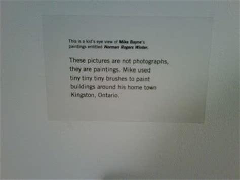 art exhibit labels  label offices   content