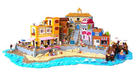 Lego Friends On Vacation At The Beach