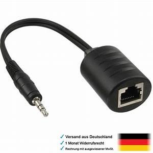 Lan Kabel Stecker : adapter kabel 3 5mm klinke stecker auf patch rj45 lan kupplung 8 polig internet ebay ~ Orissabook.com Haus und Dekorationen