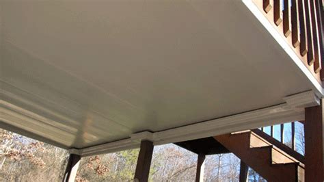 Zip Ceiling by Zip Up Deck Drainage System Hackmann Lumber