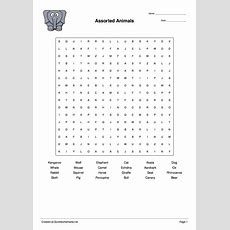 Word Scramble, Wordsearch, Crossword, Matching Pairs And Other Worksheet Makers Quickworksheets