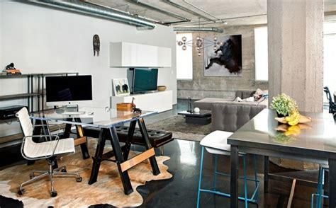 bureau de maison design bureau maison de style industriel et moderne