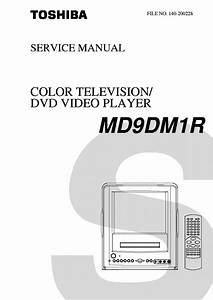 Toshiba Md9dm1r Tv