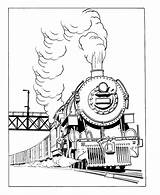 Train Coloring Transportation Locomotive Pages Printable Kb Drawings sketch template