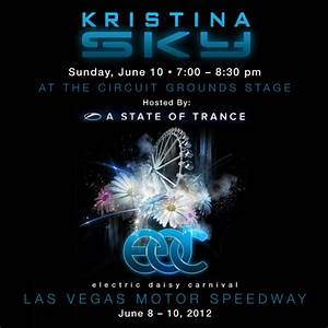 Kristina, Sky, Live, A, State, Of, Trance, Electric, Daisy, Carnival, Las, Vegas, 06