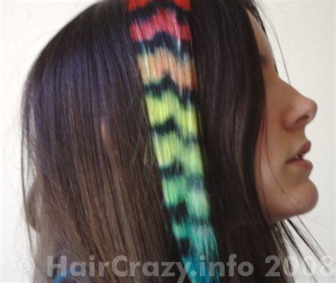 colourful coon tails haircrazycom