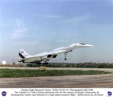 Tu-144ll Sst Flying Laboratory