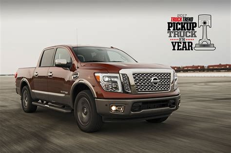 Nissan Titan Wins 2017 Pickup Truck Of The Year Ptoty17